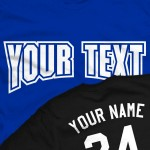 Custom Classic Old School Basketball T-Shirt