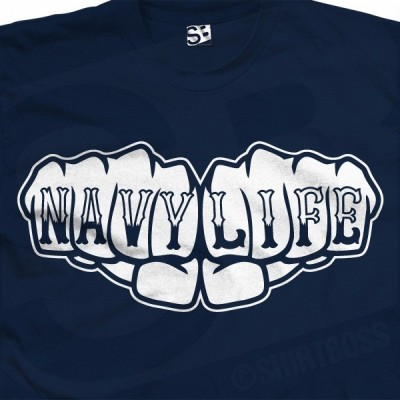 Navy Life Fists