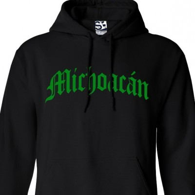 Michoacán Old English Hoodie
