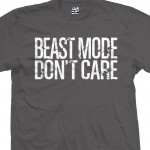 Beast Mode Don't Care Distressed T-Shirt