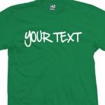 Custom Handwritten Sharpie Personalized T-Shirt