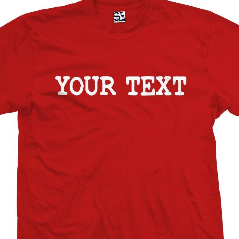 personalized custom distressed typewriter t shirt