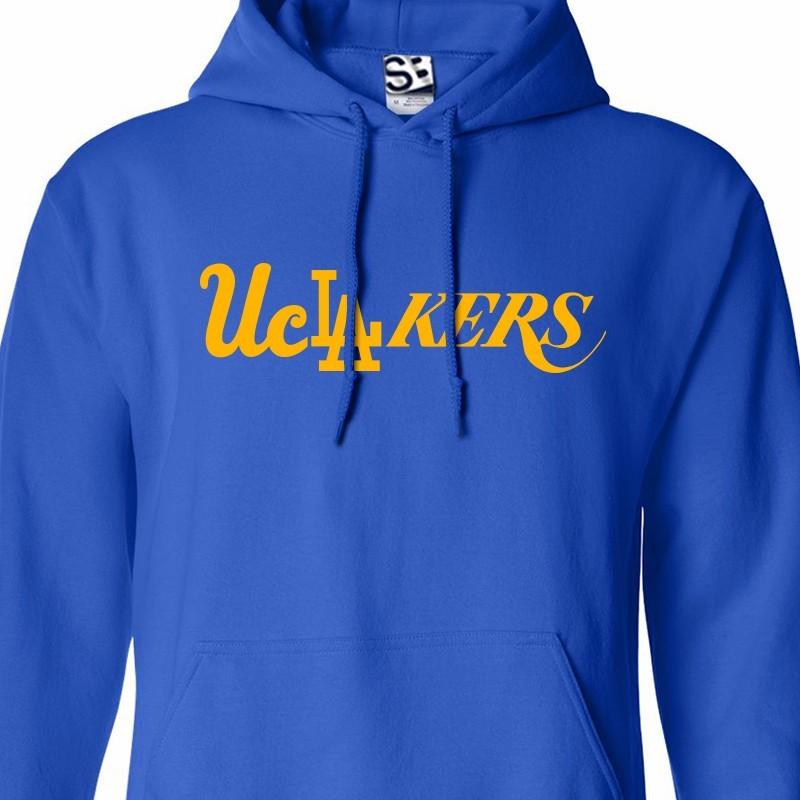 UCLA Bruins Lakers Dodgers Mashup Hoodie Sweatshirt 665c6398c