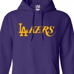L.A. Lakers Dodgers Mashup Hoodie