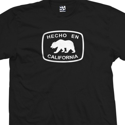 Hecho En California Bear