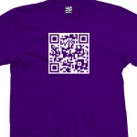 Custom Scannable QR Code T-Shirt