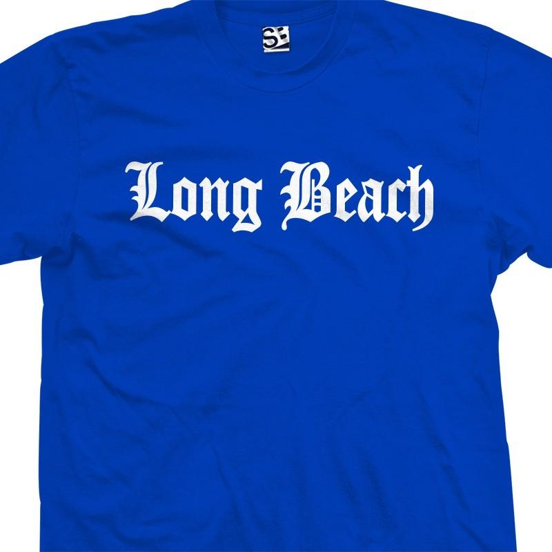 Long Beach Old English Gangster T Shirt