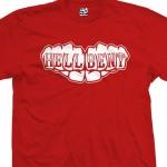 Hell Bent Fist Knuckles Tattoo T-Shirt