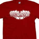 Semper Fi Knuckle Fists Tattoo T-Shirt