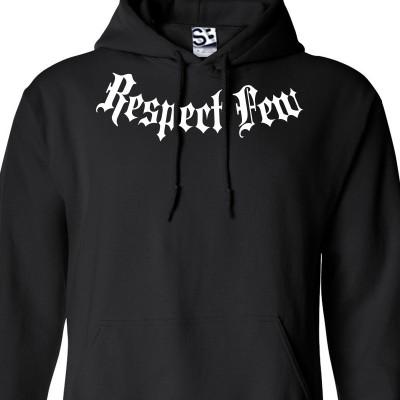 Respect Few Addict HOODIE