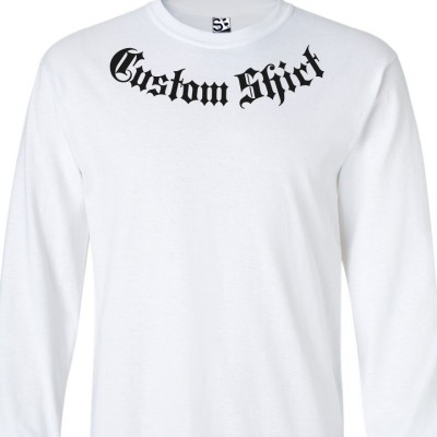 Addiction Custom Long Sleeve Shirt