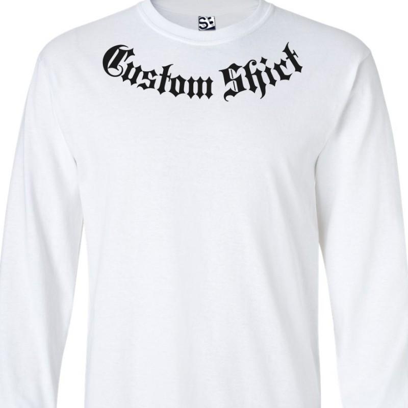 f3dfdbaf0 Addiction Custom Long Sleeve Shirt. Loading zoom