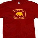 Hecho En Califas Bear T-Shirt