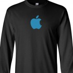 Apple Jobs Tribute Long Sleeve Shirt