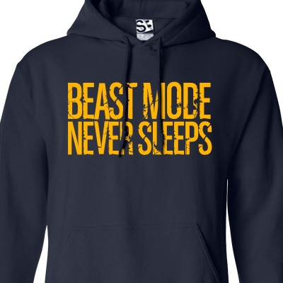 Beast Mode Never Sleeps Hoodie