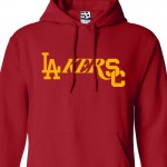 USC L.A. Lakers Dodgers Mashup Hoodie