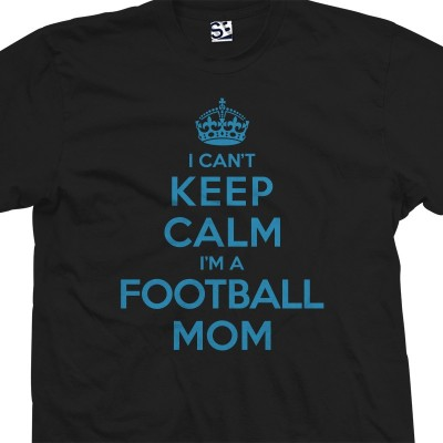 Football Mom Can't Keep Calm Shirt