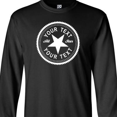 Custom Inverse Long Sleeve Shirt
