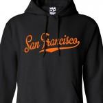 San Francisco Script Hoodie