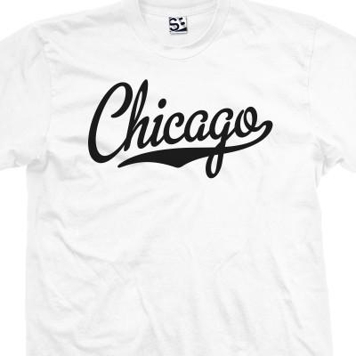 Chicago Script T-Shirt