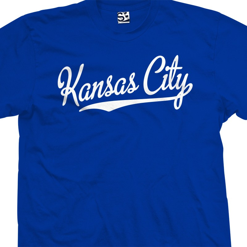 kansas city script tail t shirt