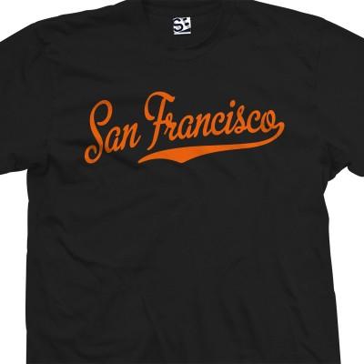 San Francisco Script T-Shirt