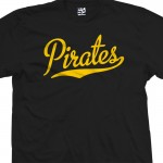 Pirates Script T-Shirt