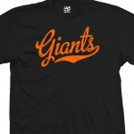 Giants Script T-Shirt