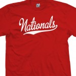 Nationals Script T-Shirt