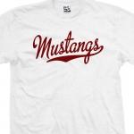 Mustangs Script T-Shirt
