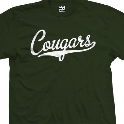 Cougars Script T-Shirt