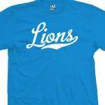 Lions Script T-Shirt