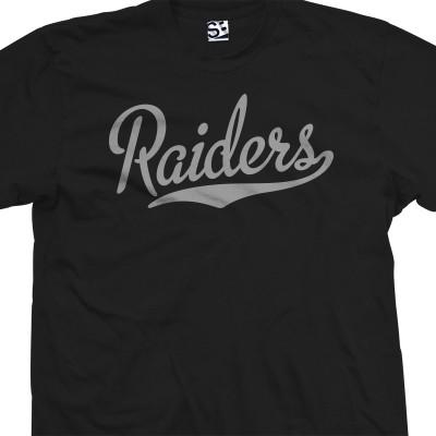 Raiders Script T-Shirt