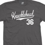 Knucklehead 36 Script T-Shirt