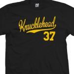 Knucklehead 37 Script T-Shirt