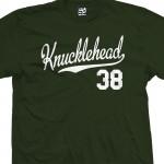 Knucklehead 38 Script T-Shirt