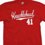 Knucklehead 41 Script T-Shirt