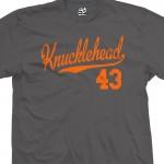 Knucklehead 43 Script T-Shirt