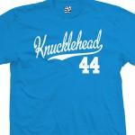 Knucklehead 44 Script T-Shirt