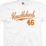 Knucklehead 46 Script T-Shirt