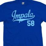 Impala 58 Script T-Shirt