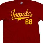 Impala 66 Script T-Shirt