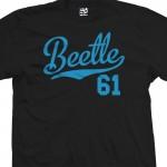 Beetle 61 Script T-Shirt