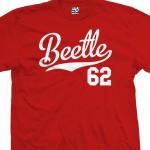 Beetle 62 Script T-Shirt