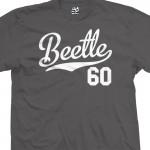 Beetle 60 Script T-Shirt