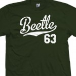 Beetle 63 Script T-Shirt