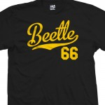 Beetle 66 Script T-Shirt