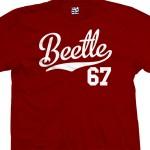 Beetle 67 Script T-Shirt