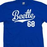 Beetle 68 Script T-Shirt