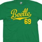 Beetle 69 Script T-Shirt